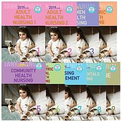 2019 간호 TANK MANUAL 매뉴얼 1~9 세트