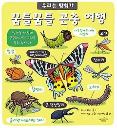 꿈틀꿈틀 곤충 여행 (플랩북)