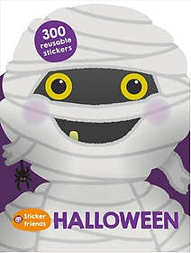 Sticker Friends Halloween (Paperback)