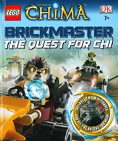 """<font title=""""레고 브릭마스터 레전드 오브 키마 LEGO Legends of Chima Brickmaster: The Quest for CHI (Hardcover/ 미니피규어 포함)"""">레고 브릭마스터 레전드 오브 키마 LEGO Le...</font>"""