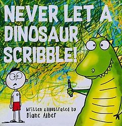 "<font title=""Never Let A Dinosaur Scribble! (Paperback)"">Never Let A Dinosaur Scribble! (Paperbac...</font>"