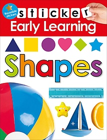 "<font title=""Sticker Early Learning Shapes (Paperback)"">Sticker Early Learning Shapes (Paperback...</font>"
