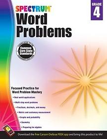 Word Problems, Grade 4 (Paperback)