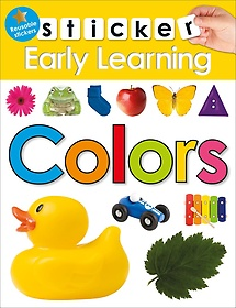 "<font title=""Sticker Early Learning Colors (Paperback)"">Sticker Early Learning Colors (Paperback...</font>"