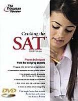 Cracking the SAT 2008 (Paperback + DVD)