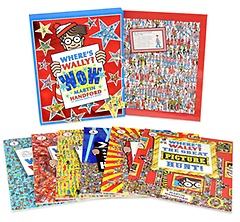 Where's Wally? 월리를 찾아라 6종+퍼즐 세트 (Paperback:6 + Jigsaw Puzzle:1)
