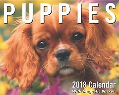 Puppies 2018 Calendar