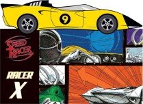 Racer X with Toy (Hardcover)