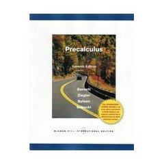Precalculus (Paperback/ 7th Ed.)