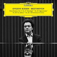 베토벤: 피아노 소나타 3번,14번,23번,26번 - 예브게니 키신