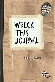 "<font title=""Wreck This Journal: Paper Bag (Paperback/ Expanded Edition)"">Wreck This Journal: Paper Bag (Paperback...</font>"