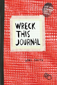 """<font title=""""Wreck This Journal: Red (Paperback/ Expanded Edition)"""">Wreck This Journal: Red (Paperback/ Expa...</font>"""