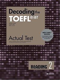 "<font title=""Decoding the TOEFL iBT Actual Test READING 2 (New TOEFL Edition)"">Decoding the TOEFL iBT Actual Test REA...</font>"