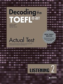 "<font title=""Decoding the TOEFL iBT Actual Test LISTENING 2 (New TOEFL Edition)"">Decoding the TOEFL iBT Actual Test LIS...</font>"