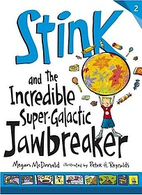 """<font title=""""Stink and the Incredible Super-Galactic Jawbreaker (Paperback)"""">Stink and the Incredible Super-Galactic ...</font>"""