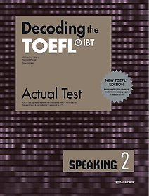 "<font title=""Decoding the TOEFL iBT Actual Test SPEAKING 2 (New TOEFL Edition)"">Decoding the TOEFL iBT Actual Test SPE...</font>"
