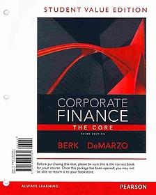 Corporate Finance (Paperback)