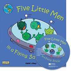 [노부영]Five Little Men (Paperback+CD)