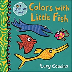 Colors with Little Fish (Board book)