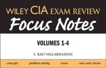 "<font title=""Wiley CIA Exam Review Focus Notes (Paperback) "">Wiley CIA Exam Review Focus Notes (Paper...</font>"