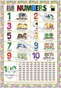 ERIC CARLE 에릭 칼 NUMBERS 포스터 (벽보)