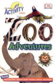 Zoo Adventures Sticker Book (Paperback)