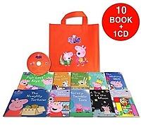 Peppa Pig : Orange Bag (book:10+CD:1)
