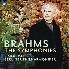 브람스: 교향곡 전곡 (제1번~제4번) - 베를린 필하모닉 오케스트라, 사이먼 래틀