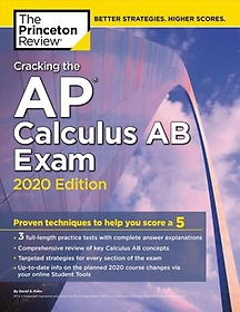"""<font title=""""Cracking the AP Calculus AB Exam, 2020 Edition (Paperback)"""">Cracking the AP Calculus AB Exam, 2020 E...</font>"""