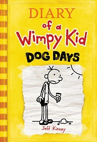 "<font title=""Diary of a Wimpy Kid #4 : Dog Days (Hardcover)"">Diary of a Wimpy Kid #4 : Dog Days (Hard...</font>"