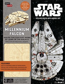 """<font title=""""Incredibuilds Star Wars Millennium Falcon Deluxe Book and Model Set (Hardcover)"""">Incredibuilds Star Wars Millennium Falco...</font>"""