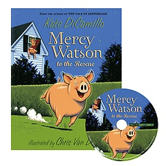 """<font title=""""Mercy Watson to the Rescue (Paperback+CD)"""">Mercy Watson to the Rescue (Paperback+CD...</font>"""