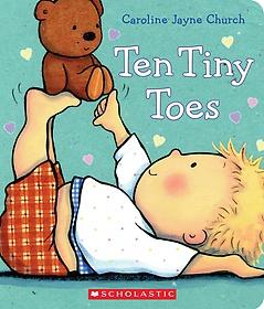 Ten Tiny Toes (Board Book)