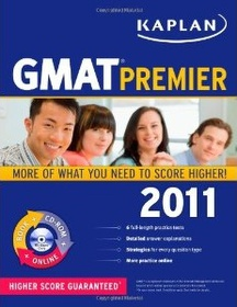 "<font title=""Kaplan GMAT 2011, Premier Program (Paperback+CD)"">Kaplan GMAT 2011, Premier Program (Paper...</font>"