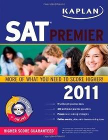 "<font title=""Kaplan SAT 2011, Premier Program (Paperback+CD)"">Kaplan SAT 2011, Premier Program (Paperb...</font>"