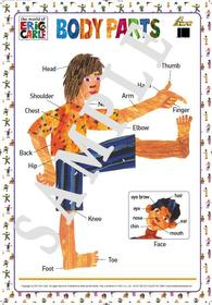 """<font title=""""ERIC CARLE 에릭 칼 BODY PARTS 포스터 (벽보)"""">ERIC CARLE 에릭 칼 BODY PARTS 포스터 (벽...</font>"""