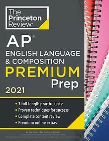 """<font title=""""Princeton Review AP English Language and Composition Premium Prep, 2021 (Paperback)"""">Princeton Review AP English Language and...</font>"""