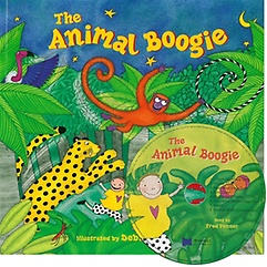 """<font title=""""노부영 The Animal Boogie (Paperback + CD) """">노부영 The Animal Boogie (Paperback + CD...</font>"""