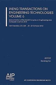 "<font title=""Iaeng Transactions on Engineering Technologies (Paperback) - Vol. 6"">Iaeng Transactions on Engineering Techno...</font>"