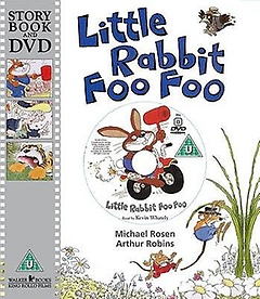 Little Rabbit Foo Foo (Paperback +DVD)