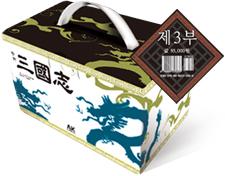 만화 삼국지 21~30 선물용 세트