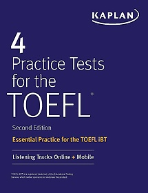 """<font title=""""4 Practice Tests for the TOEFL (Paperback) """">4 Practice Tests for the TOEFL (Paperbac...</font>"""