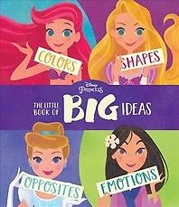"<font title=""Disney Princess the Little Book of Big Ideas ( Hardcover, Board Book)"">Disney Princess the Little Book of Big I...</font>"