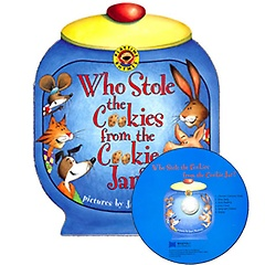 [��ο�] Who Stole the Cookies from the Cookie Jar? (Boardbook+ CD 1)