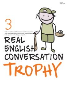 """<font title=""""Real English Conversation Trophy 3 (Paperback + CD:2)"""">Real English Conversation Trophy 3 (Pape...</font>"""