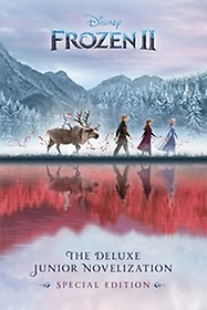 "<font title=""Frozen 2: The Deluxe Junior Novelization 디즈니 겨울왕국 2 공식 주니어 소설 (Hardcover, Deluxe)"">Frozen 2: The Deluxe Junior Novelization...</font>"