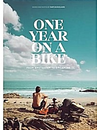 """<font title=""""One Year on a Bike: From Amsterdam to Singapore"""">One Year on a Bike: From Amsterdam to Si...</font>"""