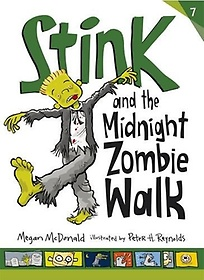 """<font title=""""Stink and the Midnight Zombie Walk (Paperback)"""">Stink and the Midnight Zombie Walk (Pape...</font>"""