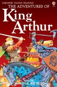 Usborne Young Reading Level 2-01 : The Adventures of King Arthur (Paperback, 영국판)