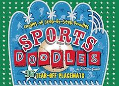 Sports Doodles Placemats (Paperback)
